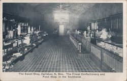 The Sweet Shop Postcard