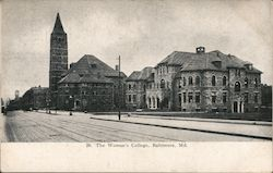 The Woman's College Postcard