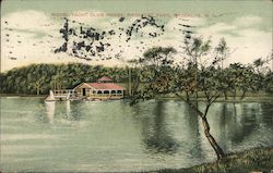 Model Yacht Club House, Prospect Park Postcard