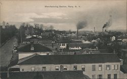 Manufacturing Section Postcard
