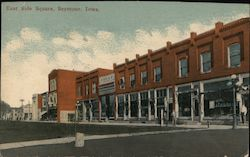 East Side Square Postcard