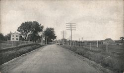 Waterford State Road, NY - Barber Asphalt Paving Company Postcard