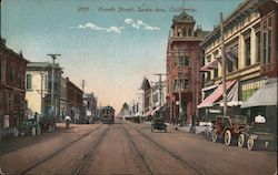 Fourth Street Postcard