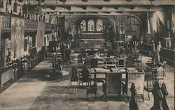 Music Room, Glenwood Mission Inn Postcard