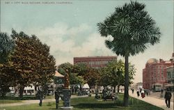 City Hall Square Postcard