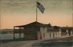 First Custom House in California Postcard