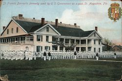 St. Francisc Barracks Formerly Used by U.S. Government as a Post Postcard