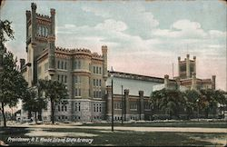 Rhode Island State Armory Postcard