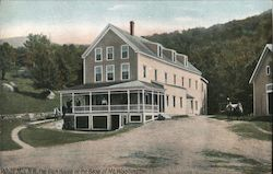 The Glen House at the Base of Mt. Washington Postcard