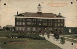 Administration Building, Newberry State Hospital Postcard