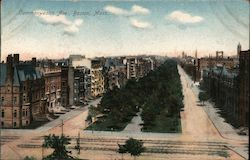 Commonwealth Ave Postcard