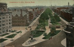 Commonwealth Ave. Postcard