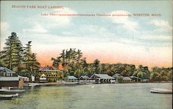 Beacon Park Boat Landing Postcard