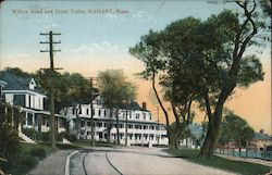 Willow Road and Hotel Tudor Postcard
