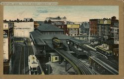 Dudley Street Terminal Station Postcard
