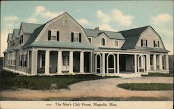 The Men's Club House Postcard