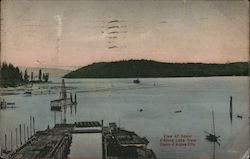View of Coeur d'Alene Lake Postcard