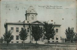 Canyon Co. Court House Postcard