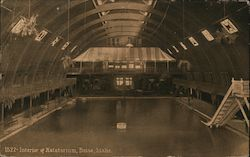 Interior of Natatorium Postcard