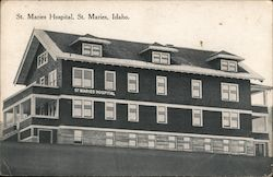 St. Maries Hospital Postcard