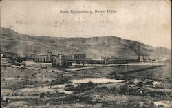 State Penitentiary Postcard