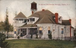 A Typical Residence Postcard