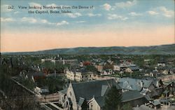 View looking Northwest from the Dome of the Capitol Postcard