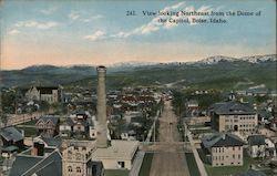 View Looking Northeast from the Dome of the Capital Postcard