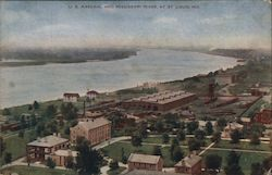 U.S. Arsenal and Mississippi River