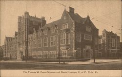 Thomas W. Evans Museum & Dental Institute, U of P Postcard