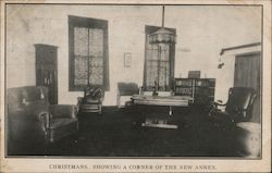 Christmans Store, Showing a Corner of the New Annex Postcard
