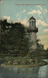 Palmer Park Light House Postcard