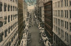 11th Street East from Main Postcard