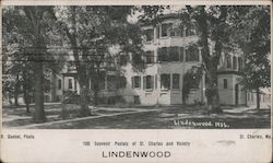Lindenwood College, 1906 Postcard