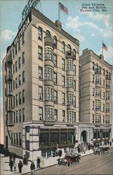 Hotel Victoria, 9th and McGee Postcard