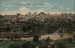 Bird's-Eye View from General Hospital Postcard