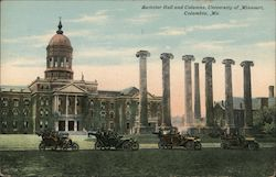 Switzler Hall and Columns, University of Missouri Postcard