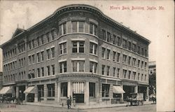 Miners Bank Building Postcard