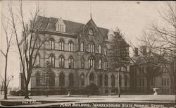 Main Building, Warrensburg State Normal School Postcard