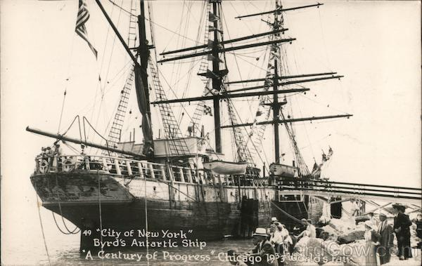 City of New York Byrds's Antartic Ship Chicago Illinois