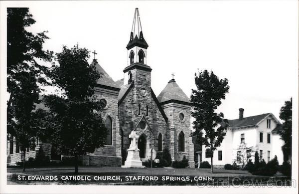 St. Edwards Catholic Church Stafford Springs Connecticut