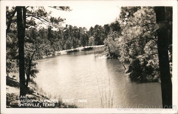 Lake Bastrop - Buescher State Park Smithville, TX Postcard
