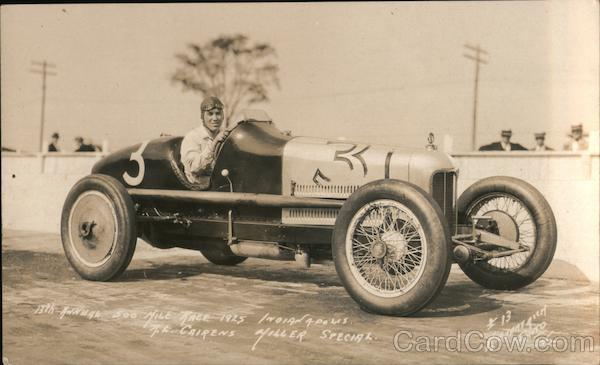 Car #3 R. L. Cairens Miller Special Indy 500 1925 Indianapolis