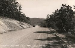Entering Marmec State Park Postcard
