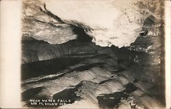 Head Water Falls 450 Ft. Below Surface Postcard