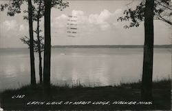 Leech Lake at Merit Lodge Postcard