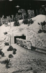Super Chief Emerges from Tunnel, Museum and Santa Fe Model Railroad