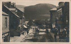 Station Street and Latrigg Postcard