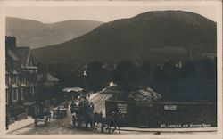 Latrigg and Station Road Postcard