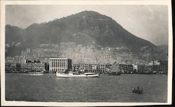Hong Kong and Harbor Postcard
